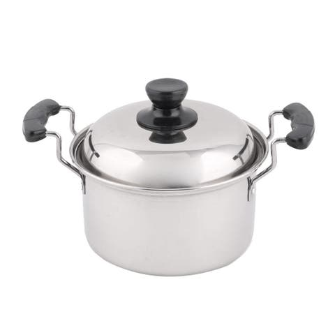 Restaurant Stainless Steel Cooking Soup Porrige Stockpot Pot 10.2 Inches Length