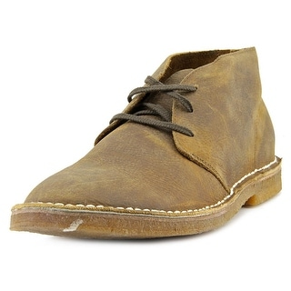 Seavees 3 Eye Chukka Men Round Toe Leather Brown Chukka Boot