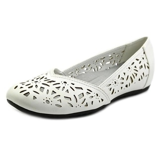Easy Street Charlize Women N/S Round Toe Synthetic Flats