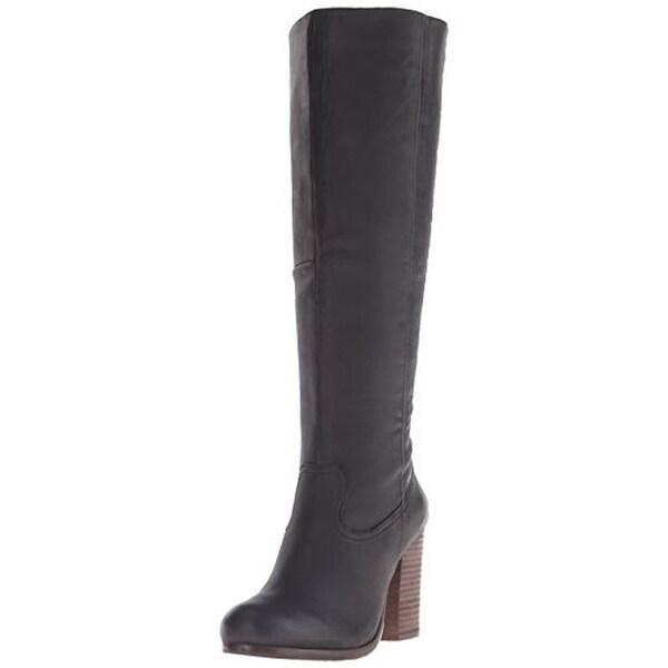 eb3a767d714 Steve Madden Womens Hudson Knee-High Boots Leather Riding - 8 medium (b