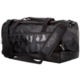Venum Sparring Sport Equipment Duffel Bag - Black/Black