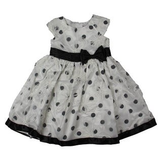 Sweet Heart Rose Girls Organza Applique Special Occasion Dress - 6