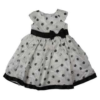 Sweet Heart Rose Girls Special Occasion Dress Organza Applique - 6