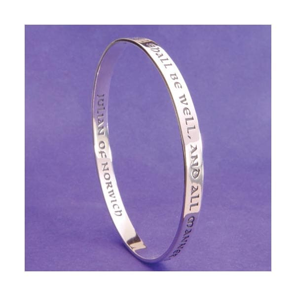 Women's All Shall Be Well Bangle