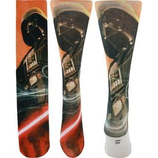 Star Wars Darth Vader Photoreal Crew Socks
