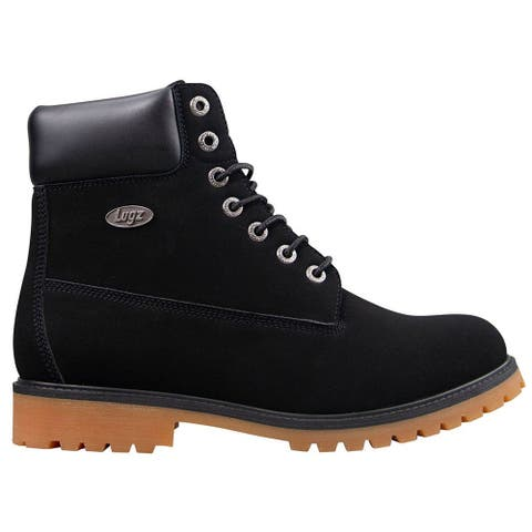 Lugz Convoy Lace Up Mens Boots Ankle - Black