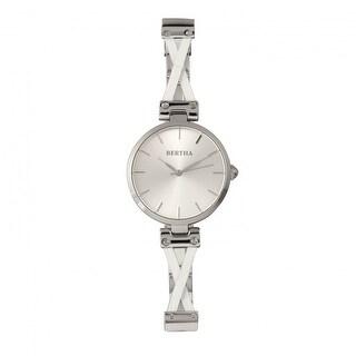 Bertha Amanda Women's Quartz Watch, Stainless Steel Band