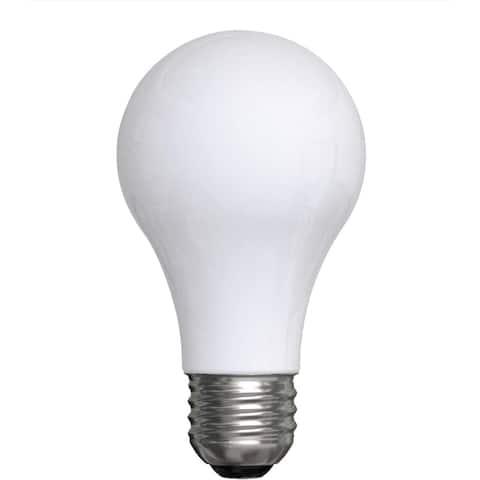 GE Lighting Reveal HD Halogen Light Bulbs, A19 Enhance Spectrum (40 Watt Replacement), 325 Lumen, Medium Base, 4-Pack - 4 Pack