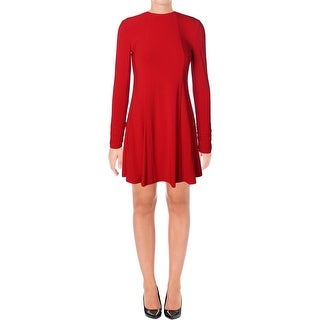 Lauren Ralph Lauren Womens Petites Wear to Work Dress Ruched High Neck (More options available)