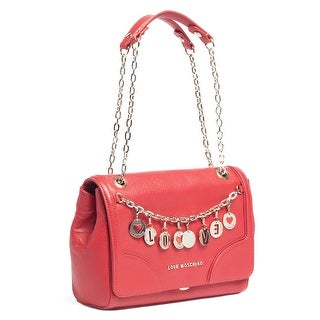 Moschino JC4069 0500 Red Shoulder Bag - 11.5-7.5-5.5