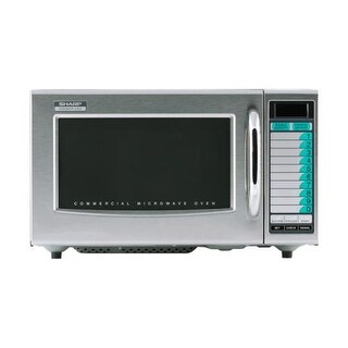 Sharp - R-21LVF - 1000 Watt Commercial Microwave Oven