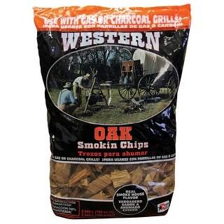 Western 78077 Oak BBQ Smoking Chips, 2.25 lb.