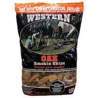 Western 78077 Oak BBQ Smoking Chips, 2.25 lb.