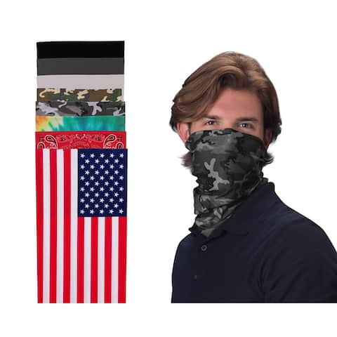 Valucap Gaitor Unisex Masks Assorted Colors - One Size
