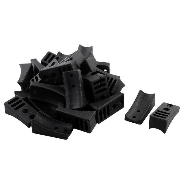 Unique BargainsOffice Plastic Anti Scratch Chair Sofa Table Leg Foot Cap  Cover Protector 30pcs