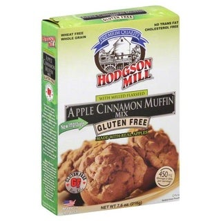 HODGSON MILL MIX MUFFIN APLE CNMN GF-7.6 OZ -Pack of 6