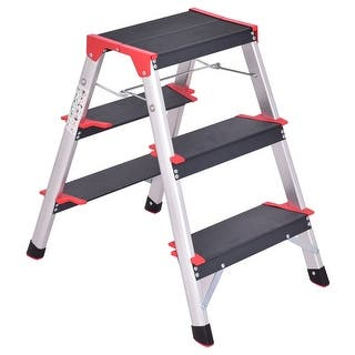 Shop Amerihome 3 Step Utility Stool With Tray Free