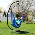 Sunnydaze Jumbo Hanging Chair Hammock Swing - Thumbnail 8