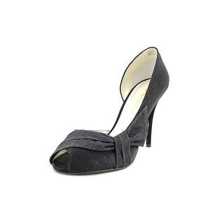Caparros Octavia Peep-Toe Synthetic Heels