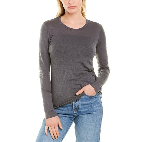 Stateside Crewneck T-Shirt - Charcoal