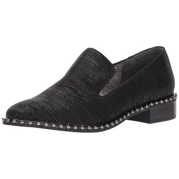 Adrianna Papell Women's Prince Oxford Flat, Black, Size 8.5
