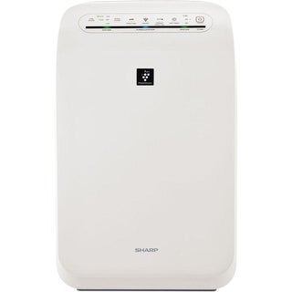 Sharp FP-F60UW Plasmacluster Ion Air Purifier with True HEPA Filtration (280 sq. ft.) - White