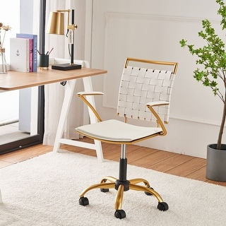 Link to LUXMOD® Gold Office Chair,Adjustable Swivel Chair,Ergonomic Desk Chair Similar Items in Home Office Furniture