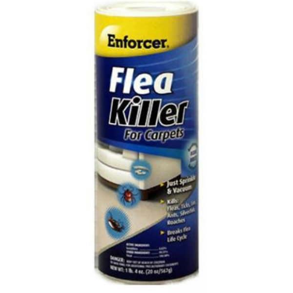 Enforcer Efkob20 Flea Killer For Carpets 20 Oz