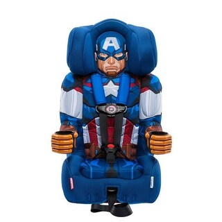 KidsEmbrace Friendship Combination Booster Car Seat - Captain America
