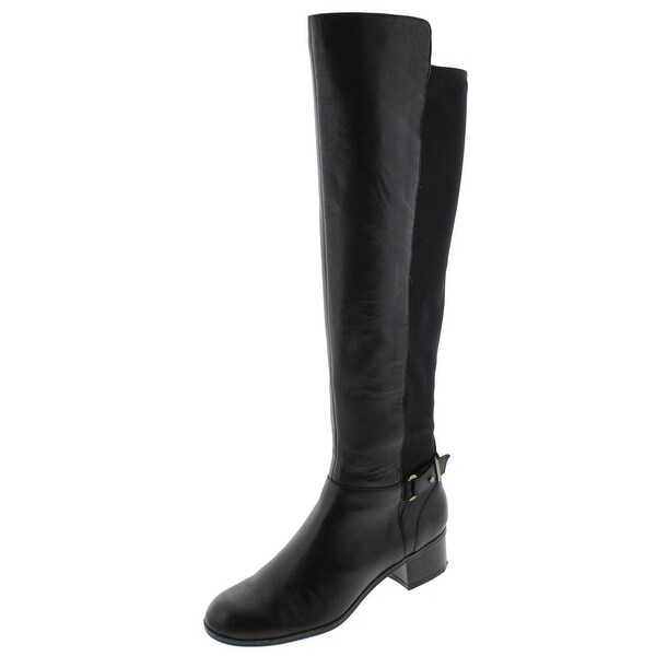 Bandolino Womens Cuyler Riding Boots Leather Over The Knee