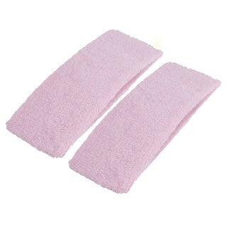 Unique Bargains 2Pcs Durable Soft Sports Sweat Absorbed Head Band Headband For Girl Ladies