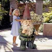 Design Toscano  Gottfried, the Gigantic Garden Gnome Statue