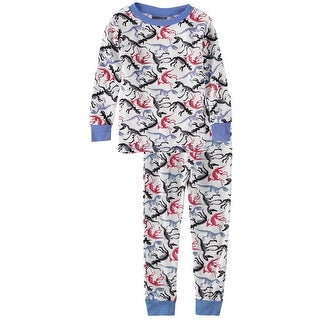 Mon Petit Boys 4-7 Long-Sleeve Thermal Underwear Pajama Set