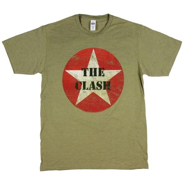 6f8b0ae139152 The-Clash-Men s-T-Shirt-Combat-Army-Green-Graphic-Punk-Band-Tee.jpg
