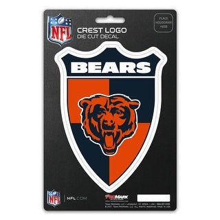 Chicago Bears Decal Shield Design