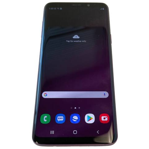 Samsung Galaxy S9 Plus 64GB SM-G935 Purple Verizon + GSM Unlocked Refurbished Smartphone