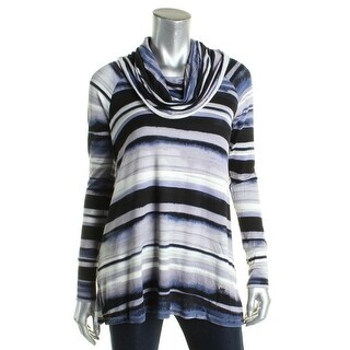 Cupio Womens Pullover Sweater Terry Printed