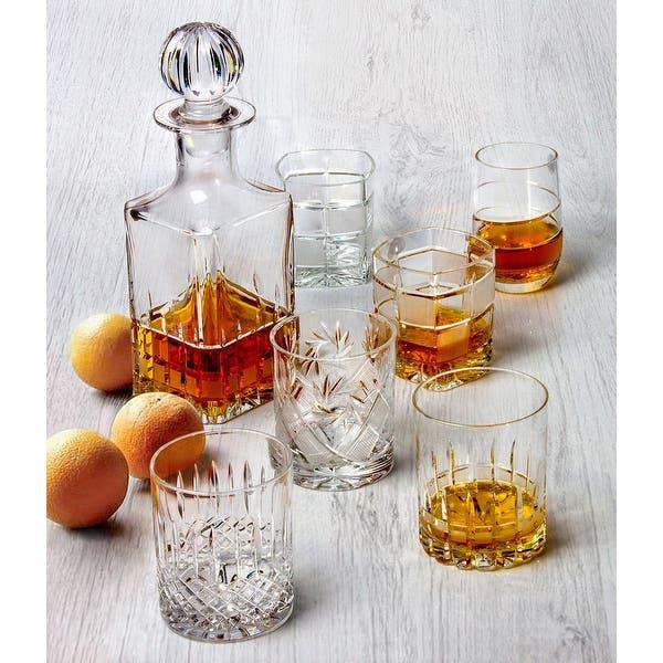 Neman Glassworks Iceberg High End Crystal Whiskey Glass Set Of 6 Overstock 32009144