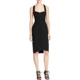 Black Halo Womens Bodycon Dress Cutout Bodycon - 6