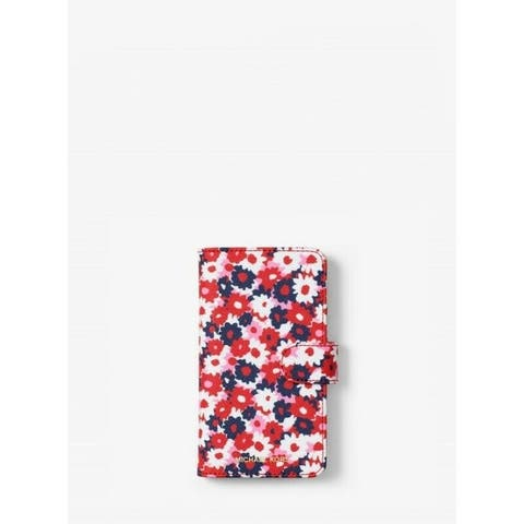 Michael Kors Carnation Folio Case For iPhone X / iPhone Xs