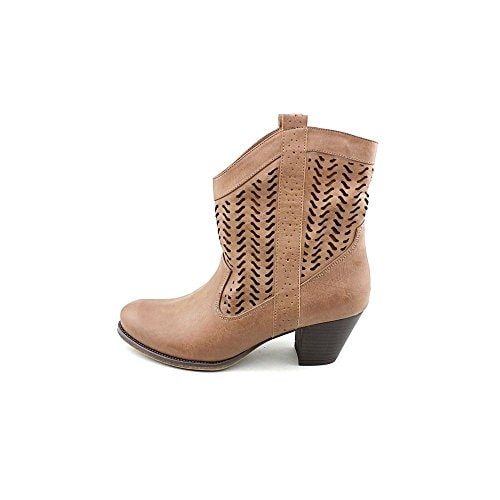 Style & Co. Womens Dylan Almond Toe Ankle Fashion Boots