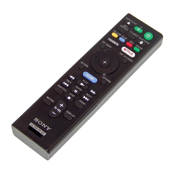 NEW OEM Sony Remote Control Originally Shipped With: UBP-X1000ES, UBP-X800