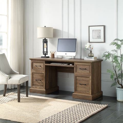 "BELLEZE Rhudi 62"" Executive Desk, 5 Colors - standard"