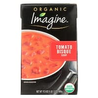 Imagine Foods Tomato Bisque Soup - Organic - Case of 12 - 17.3 oz.