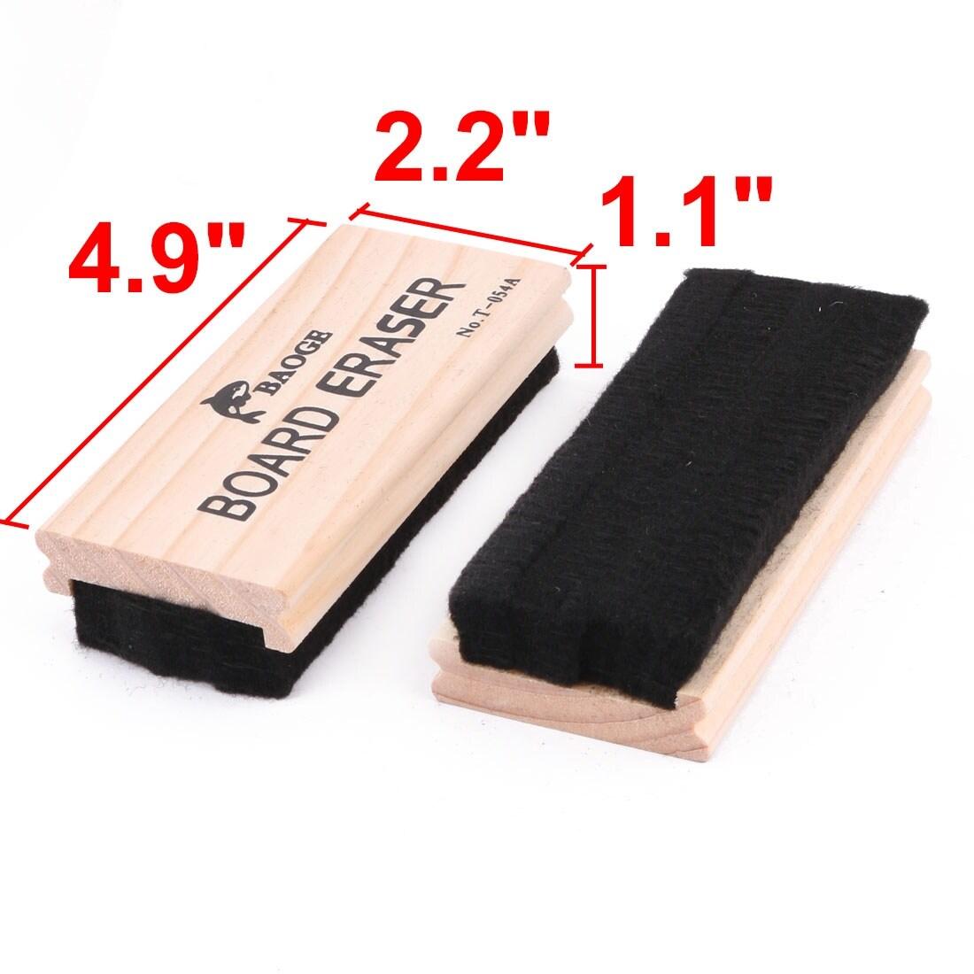 Shell Rectangle Shape Chalkboard Eraser Wood Dustless Blackboard Cxz OhVW Tydf