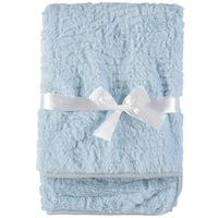 Baby Dove Baby Boys Faux Fur Blanket