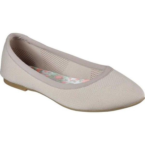 Cleo Sass Ballet Flat Taupe