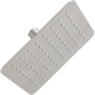 Mirabelle MIRRS825S 2.5 GPM Single Function Square Rain Shower Head - n/a