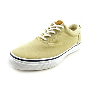 Sperry Top Sider Striper LL Cvo Men Canvas Nude Fashion Sneakers