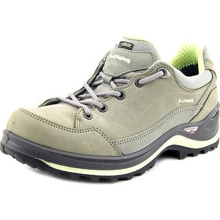 Lowa Renegade III GTX Lo Women Round Toe Leather Gray Hiking Shoe